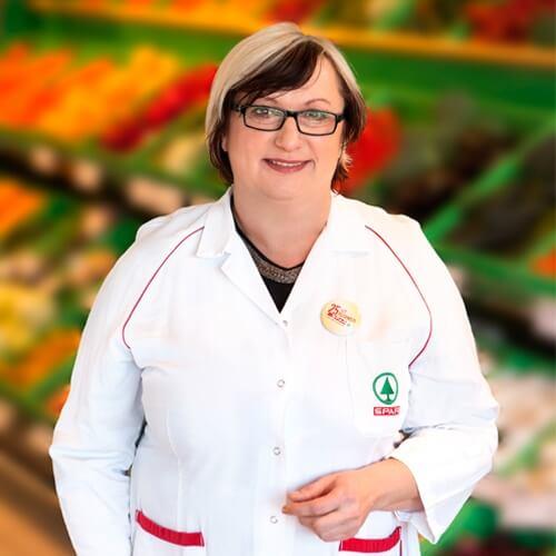 VESNA KRALJ, direktorica podjetja Panda d.o.o. in vodja trgovine SPAR partner Brusnice